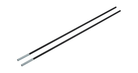 CAMPZ Fiberglass Rod with Sleeve 9mm/0,65m 2-pack